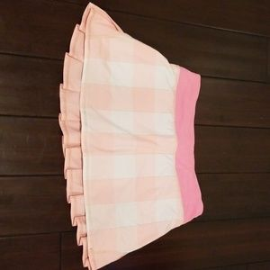 Lululemon pink running skirt size 6